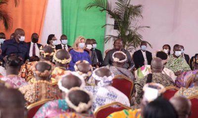 Alassane Ouattara annonce de «bonnes nouvelles» pour les planteurs de café-cacao