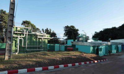 Pénurie d'eau potable à Bongouanou, une Unité compacte dégremont installée