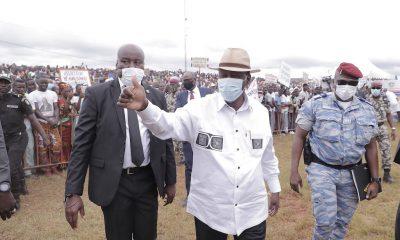 Visite d'Etat- Arrah, M'batto, Bongouanou, l'espoir s'appelle ADO